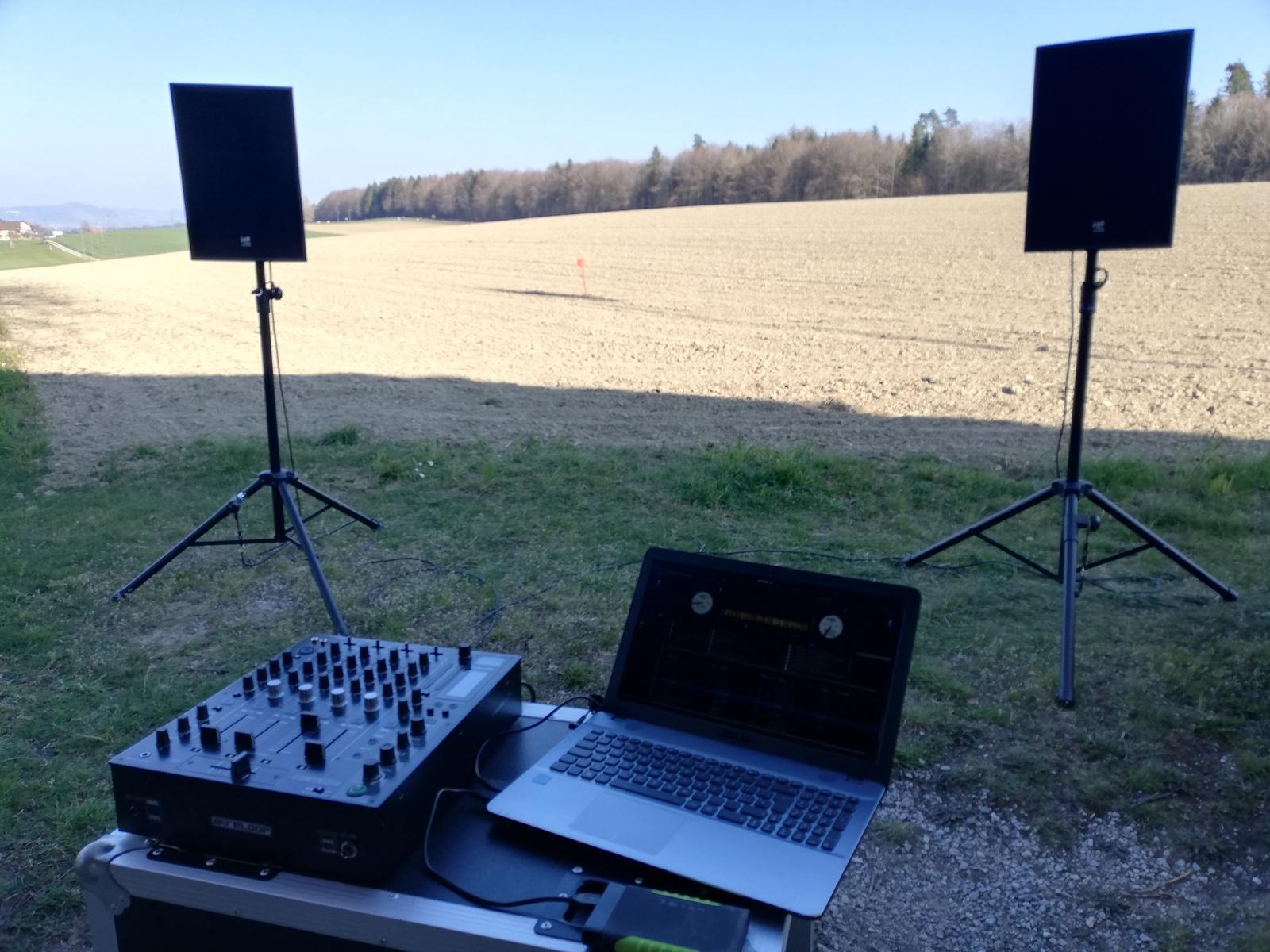 Kleines DJ-Set